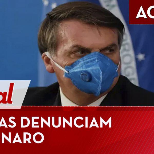 uristas denunciam Bolsonaro por crime contra humanidade – MP é questionada no STF