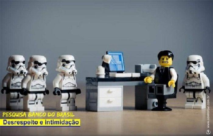 <p>Banco do Brasil intimida funcionários com pesquisa</p>
