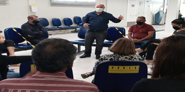 Sindicato dos Bancários reúne com funcionários do Banco do Brasil (agencia Rio Vermelho)