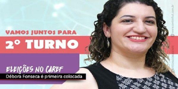 Candidata apoiada pela Fetec-CUT/CN, Débora Fonseca é primeira colocada na eleição do Caref