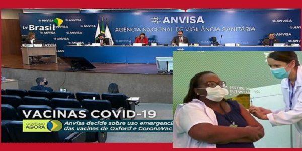 Por unanimidade, diretoria da Anvisa aprova uso emergencial de vacinas contra a covid-19