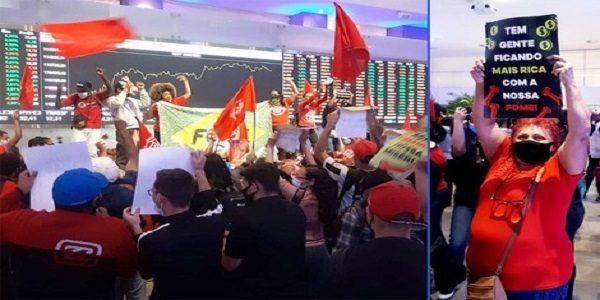 Movimentos sociais ocupam Bolsa de Valores em protesto contra a fome