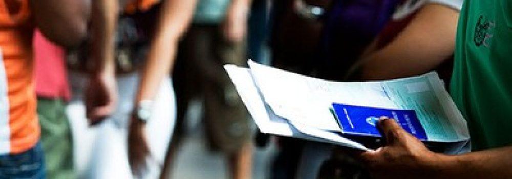 Desemprego atinge 13,1 milhões de pessoas