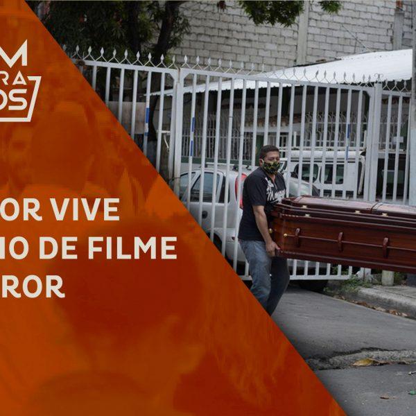 Equador vive cenário de filme de terror