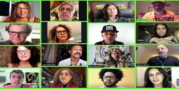 Em live, artistas lançam manifesto pelo impeachment de Bolsonaro